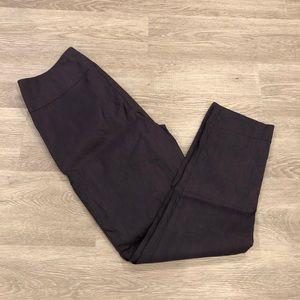 Sarah Pacini Linen Straight Leg Pants Size 0